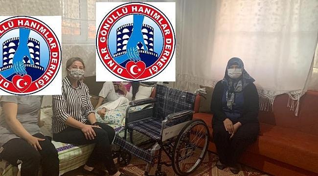 Başkan Gül Çağlı'dan Engelli Çocuğa Tekerlekli Sandalye