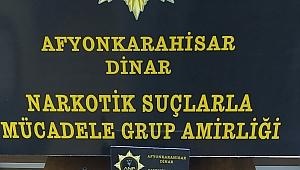 Dinar'da Metamfetamin Maddesi