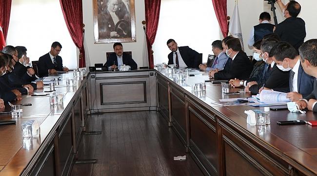 Başkan Sarı; Afyon'da Toplantıya Katıldı