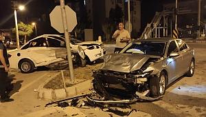 Dinar'da Öğretmenimiz Kazada Ağır Yaralandı