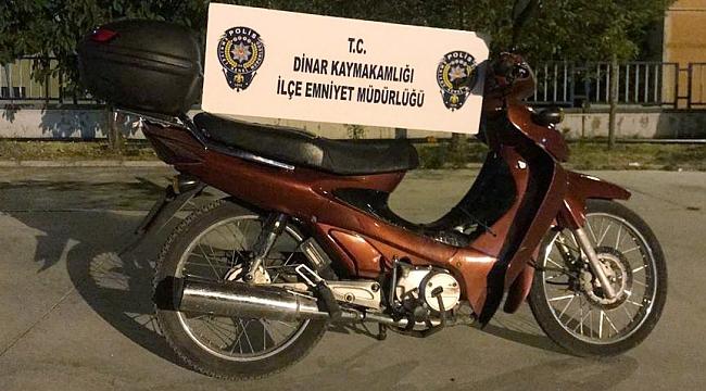 Antalya'da Çalındı Dinar'da Yakalandı